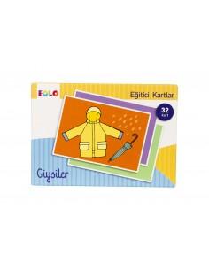 More about Eolo Eğitici Kartlar - Giysiler - 10008