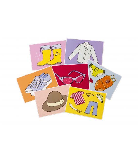 Eolo Eğitici Kartlar - Giysiler - 10008