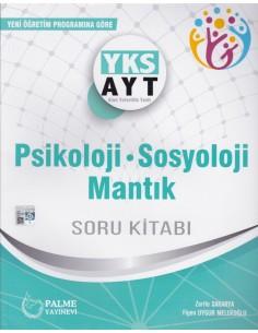 Palme Yayınları YKS AYT Psikoloji Sosyoloji Mantık Soru Kitabı