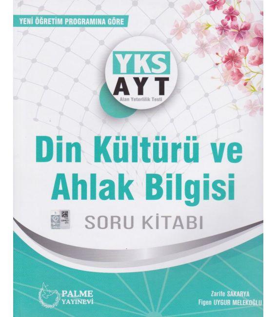 Palme Yayınları YKS AYT Din Kültürü ve Ahlak Bilgisi Soru Kitabı