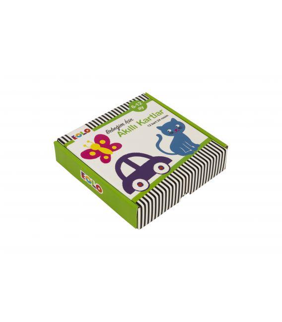 Eolo 6 - 12 Aylık Bebeğim için Akıllı Kartlar - 10010