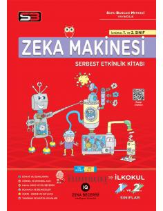 SBM 1. ve 2. Sınıf Zeka Makinesi Serbest Etkinlik Kitabı