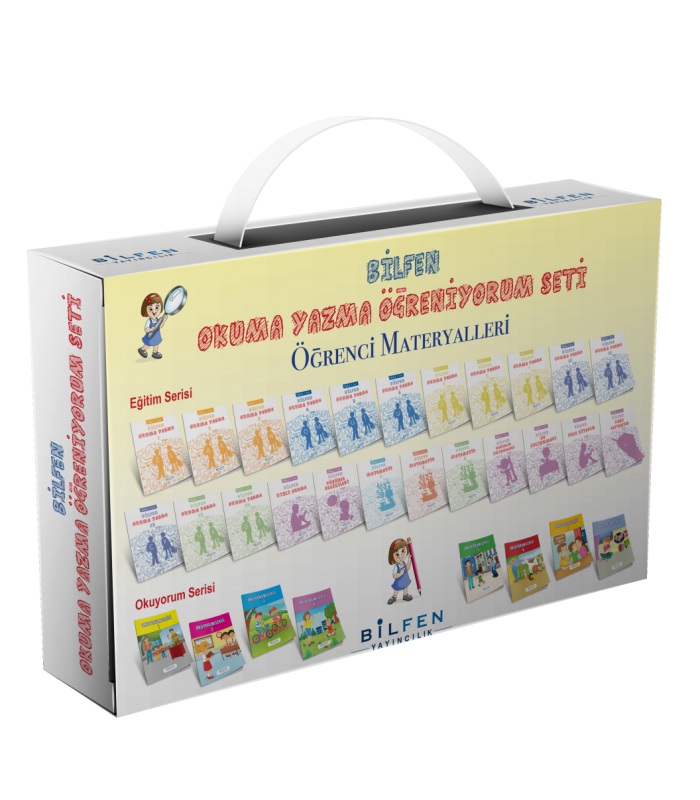 Bilfen Yayınları Ilkokul 1sınıf Ilk Okuma Yazma Eğitim Seti