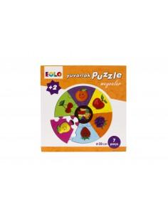 Eolo Yuvarlak Puzzle - Meyveler - 20002
