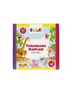 Eolo Tamamlama Kartları - Hayvanlar - 20004