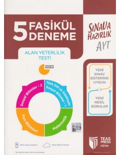 Teas Press AYT 5 Fasikül Deneme