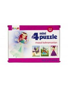Eolo Mini Puzzle - Masal Kahramanları - 20008