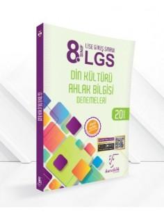 Karekök Yayınları 8. Sınıf LGS Din Kültürü Ahlak Bilgisi Denemeleri - 20 Deneme