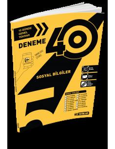 Hız Yayınları 5. Sınıf 40'lı Sosyal Bilgiler Deneme - 2019