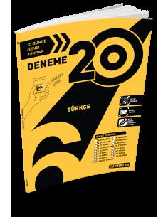 Hız Yayınları 6. Sınıf 20'li Türkçe Deneme - 2019