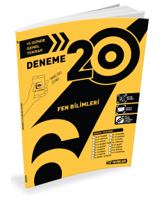Hız Yayınları 6. Sınıf 20'li Fen Bilimleri Deneme - 2019