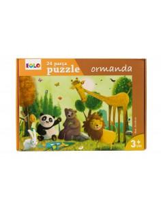 Eolo Yer Puzzle - 24 Parça Puzzle - Ormanda - 30006