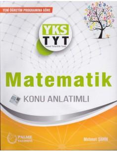 Palme Yayınları YKS TYT Matematik Konu Anlatımlı