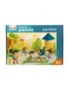 Eolo Yer Puzzle - 40 Parça Puzzle - Parkta - 40006