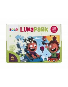 Eolo Yer Puzzle - 60 Parça Puzzle - Lunapark - 40008