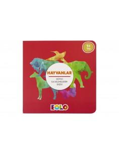 Eolo Eğitici ilk Kelimelerim Dizisi - Hayvanlar - K10001