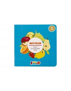Eolo Eğitici ilk Kelimelerim Dizisi - Meyveler - K10002