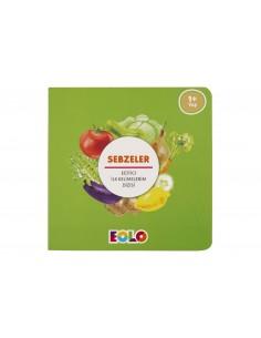 Eolo Eğitici ilk Kelimelerim Dizisi - Sebzeler - K10003