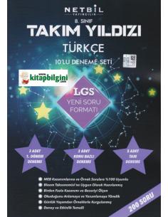 Netbil 8. Sınıf Takım Yıldızı Türkçe 10'lu Deneme Seti
