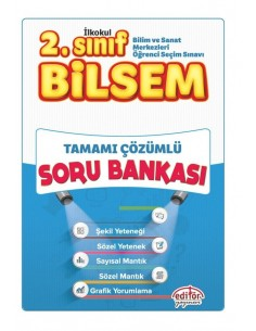 Editör 2. Sınıf Bilsem Tamamı Çözümlü Soru Bankası