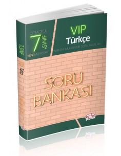 Editör 7. Sınıf VIP Türkçe Soru Bankası
