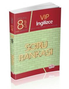 Editör 8. Sınıf VIP İngilizce Soru Bankası