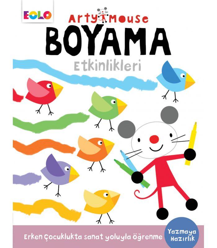 Eolo Oyuncak Ve Kitap Okul öncesi Arty Mouse Boyama Etkinlikleri
