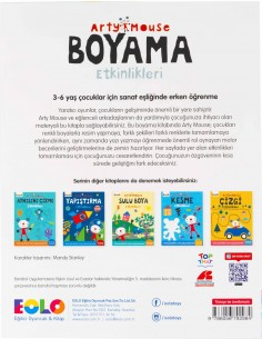 Eolo - Arty Mouse - Boyama Etkinlikleri - K30008