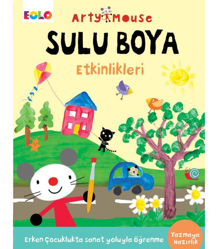 Eolo Oyuncak Ve Kitap Okul öncesi Arty Mouse Sulu Boya