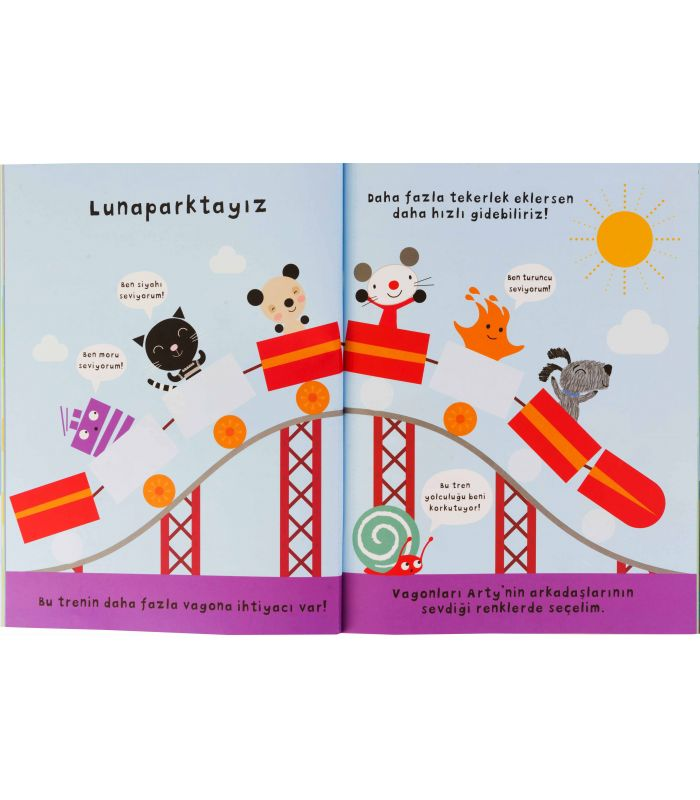 Eolo Oyuncak Ve Kitap Okul öncesi Arty Mouse Yapıştırma