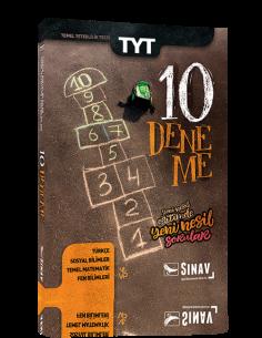 Sınav Yayınları TYT 10 Deneme