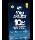 Puan Yayınları AYT Türk Dili ve Edebiyatı Sosyal Bilimler 1 Soru Analizli 10+1 Deneme