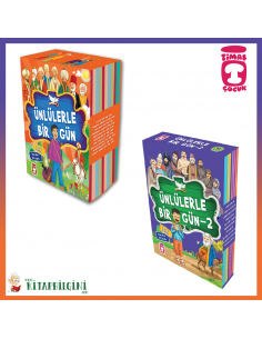 Ünlülerle Bir Gün Kampanyalı 2'li Set (20 Kitap) - Timaş Yayınları