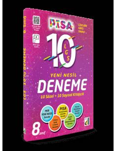 Damla Yayınları PISA LGS 10'Lu Yeni Nesil Deneme