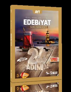 Sınav Yayınları AYT Edebiyat 24 Adımda Özel Konu Anlatımlı Soru Bankası