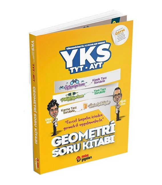 Metin Yayınları TYT AYT Geometri Soru Kitabı