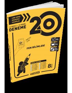 Hız Yayınları 8. Sınıf 20'li Fen Bilimleri Deneme - 2019