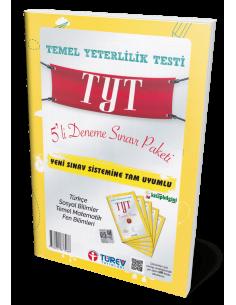 Türev Yayınları 8.Sınıf LGS 5'Li Deneme Sınavı Paketi