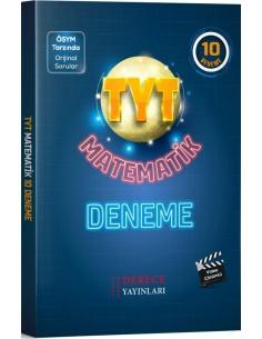 Derece Yayınları TYT Matematik 10 Deneme
