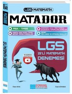 Evrensel İletişim 8. Sınıf LGS Matematik Matador 15'li Deneme