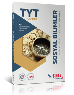 Sınav Yayınları TYT Çapraz MF Öğrencileri İçin Sosyal Bilimler Tek Kitap