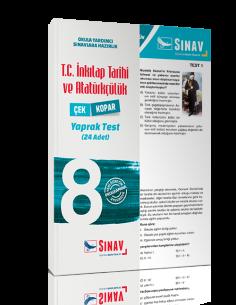Sınav Yayınları 8. Sınıf T.C. İnkılap Tarihi ve Atatürkçülük Yaprak Test
