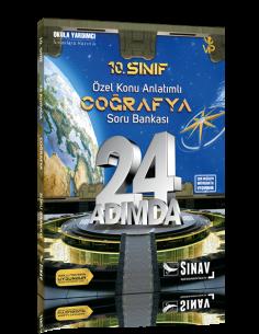 Sınav Yayınları 10. Sınıf Coğrafya 24 Adımda Özel Konu Anlatımlı Soru Bankası