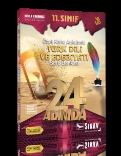 Sınav Yayınları 11. Sınıf Türk Dili ve Edebiyatı 24 Adımda Özel Konu Anlatımlı Soru Bankası