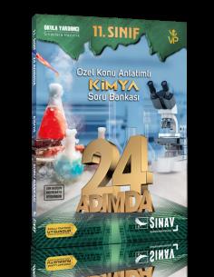 Sınav Yayınları 11. Sınıf Kimya 24 Adımda Özel Konu Anlatımlı Soru Bankası