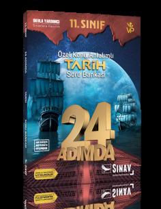 Sınav Yayınları 11. Sınıf Tarih 24 Adımda Özel Konu Anlatımlı Soru Bankası