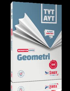 Sınav Yayınları TYT AYT Geometri Akordiyon Kitap