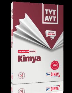 Sınav Yayınları TYT AYT Kimya Akordiyon Kitap