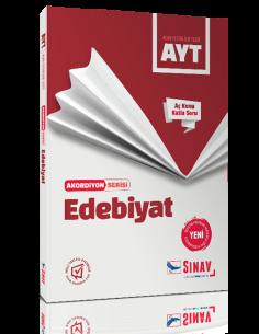 Sınav Yayınları AYT Edebiyat Akordiyon Kitap