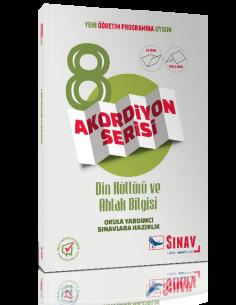 Sınav Yayınları 8. Sınıf Din Kültürü ve Ahlak Bilgisi Akordiyon Kitap